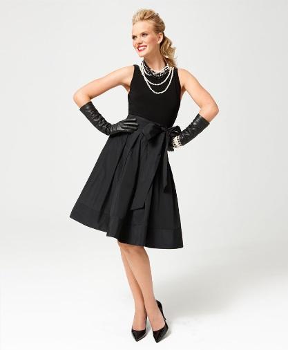 Anne V Macys Vintage Glamour Lauren By Ralph Lauren Yuko Taffeta
