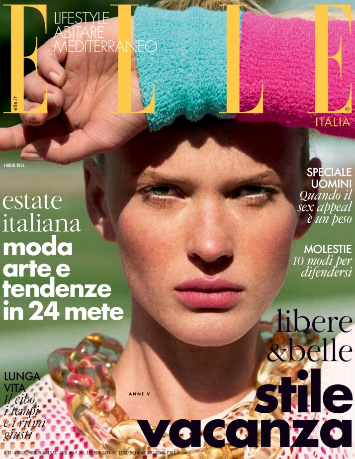 Anne V goes to Summer Camp in new July 2015 issue of Elle Italia (Photography: Matt Jones)